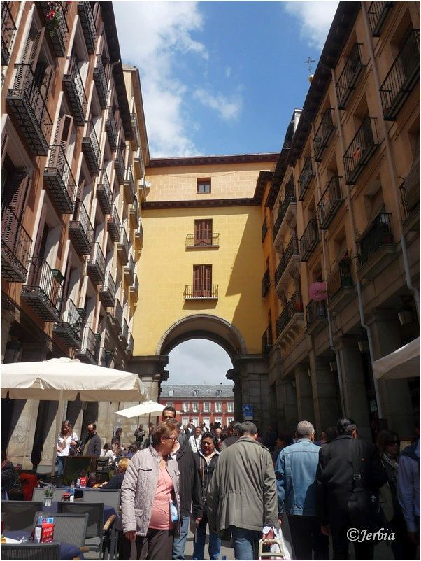 Ingang Plaza Mayor